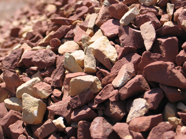 Red Shale Stone : Gauthier soils ltd products